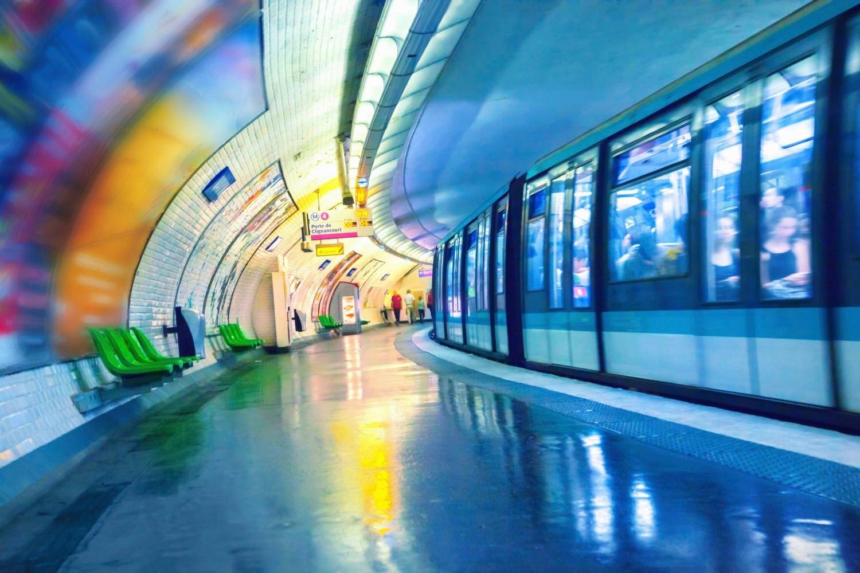 queence artprint op acrylglas Tunnel online kopen op otto.nl