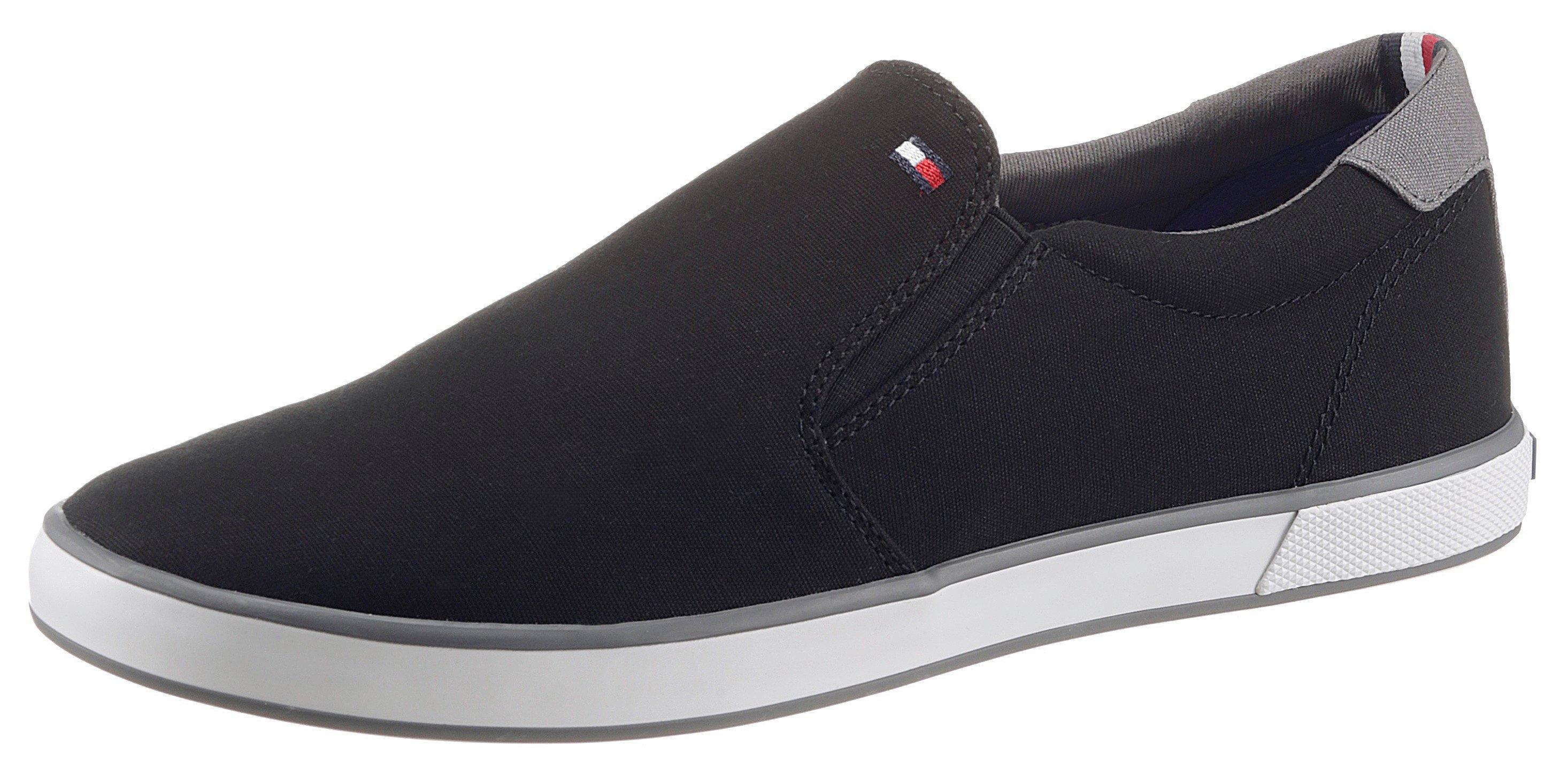 Tommy Hilfiger slip-on sneakers ICONIC SLIP ON SNEAKER met stretchinzetten opzij - gratis ruilen op otto.nl