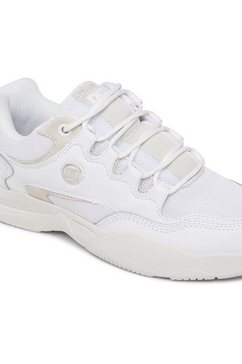 dc shoes sneakers »decel« wit