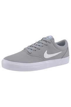 nike sb sneakers »charge solarsoft textile skate« grijs