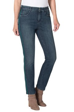 ascari jeans in modieus 5-pocketsmodel blauw