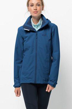 jack wolfskin functioneel jack »evandale jacket w« blauw