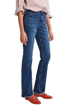 comma wijd uitlopende jeans blauw