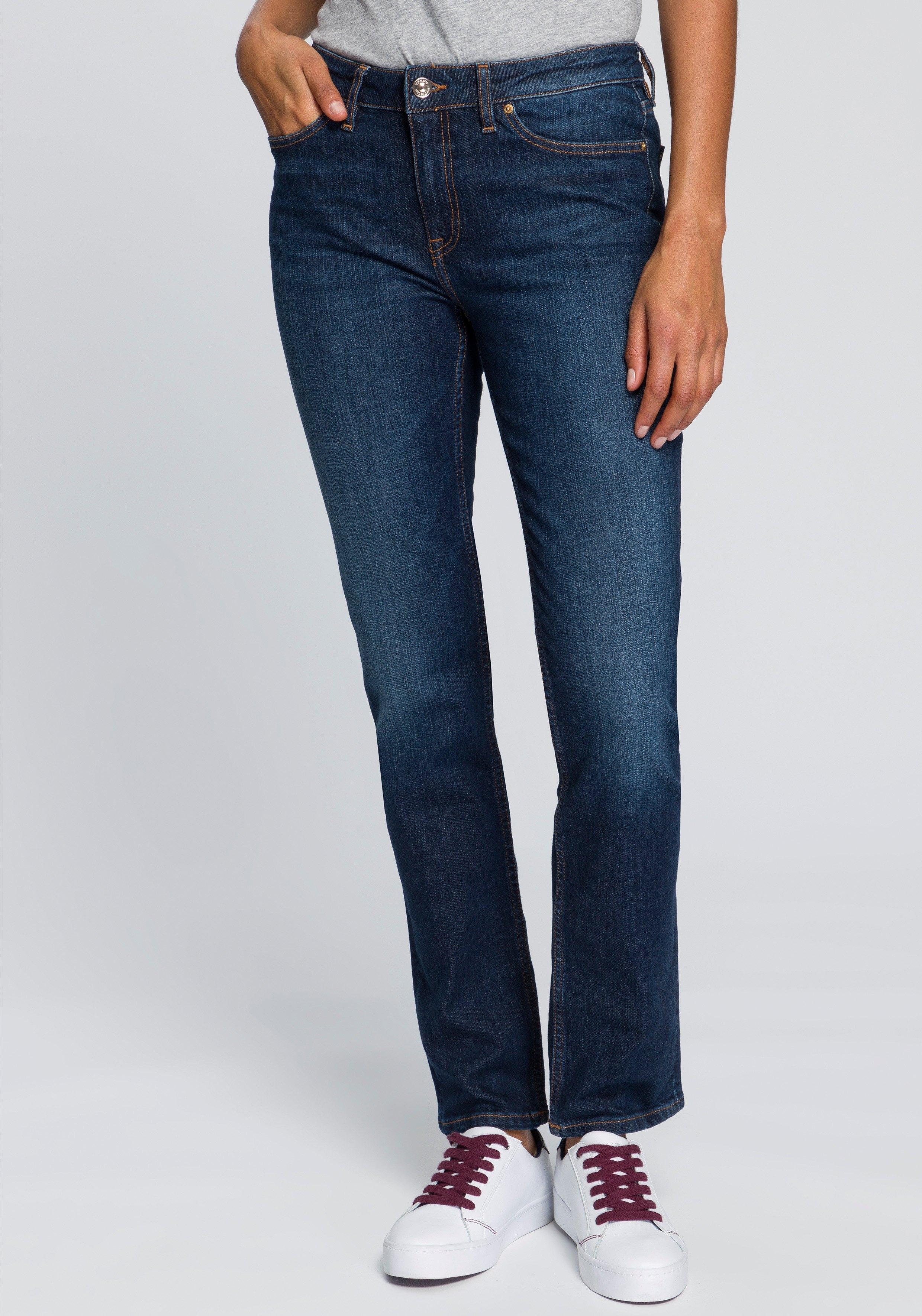 Tommy Hilfiger straight jeans HERITAGE ROME STRAIGHT RW met lichte fadeout-effecten voordelig en veilig online kopen