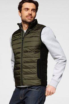 calvin klein bodywarmer »light weight side logo vest« groen