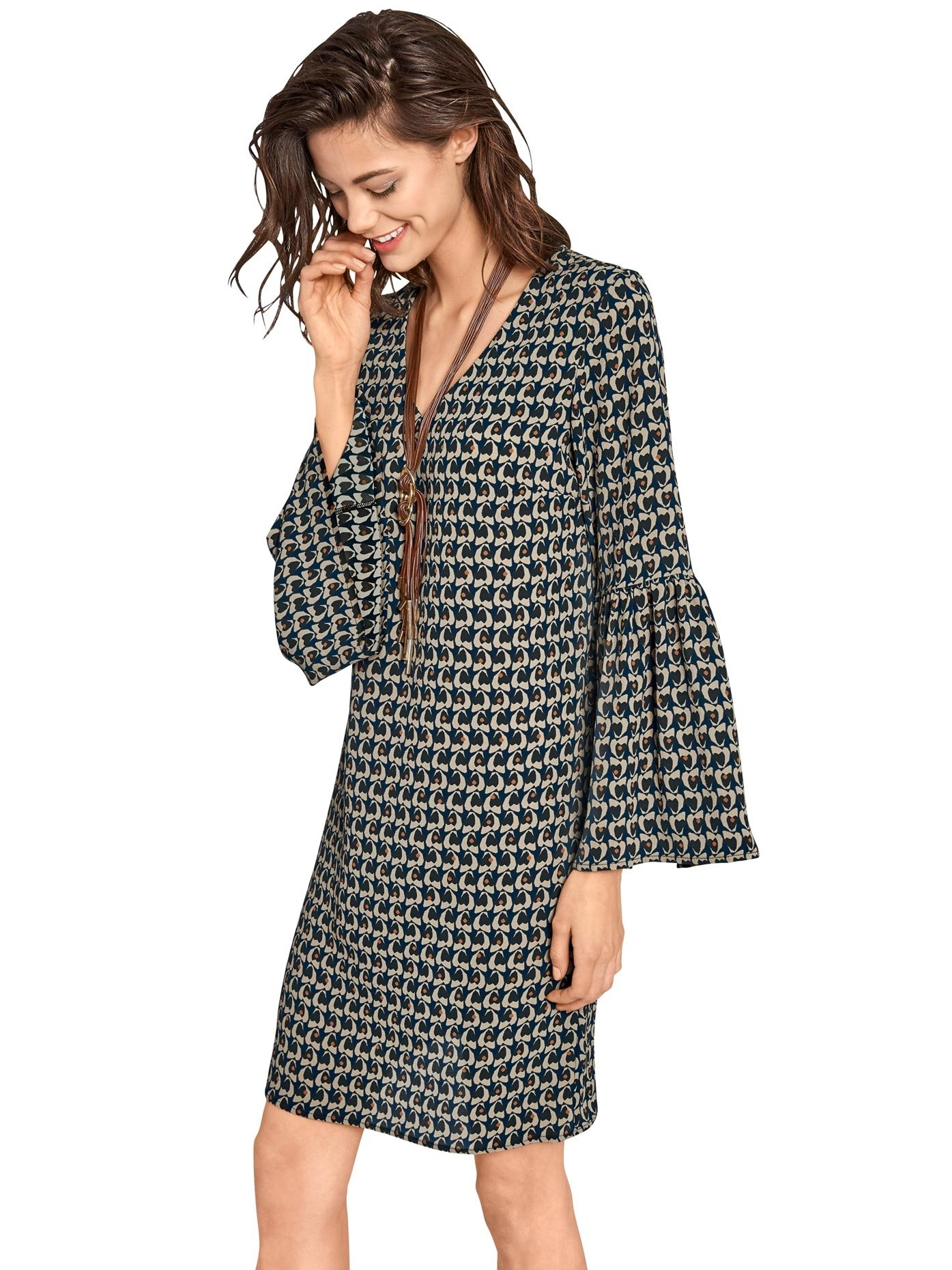 LINEA TESINI by Heine gedessineerde jurk bestellen: 30 dagen bedenktijd