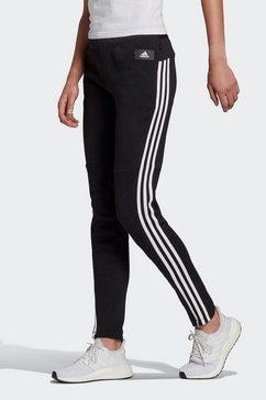 adidas performance trainingsbroek must have snap pant zwart