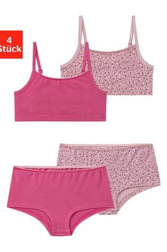 vivance set: bustier (met hipster) roze