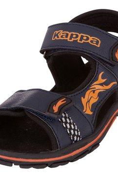 kappa sandalen »beel k« blauw