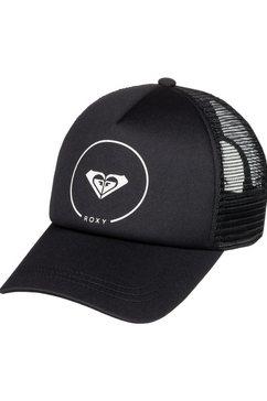 roxy trucker-cap »truckin« zwart