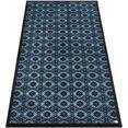 barbara becker loper spirit bb inloopmatten, schoonloopmatten, inloopmat, geschikt voor binnen en buiten, wasbaar blauw