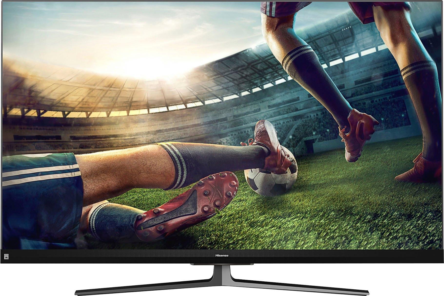 Hisense 55U8QF LED-televisie (139 cm / (55 Inch), 4K Ultra HD, Smart-TV veilig op otto.nl kopen