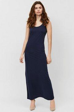 vero moda maxi-jurk blauw