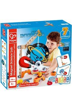 hape constructie-speelset junior inventor magneetwetenschappelijk laboratorium (34 stuks) multicolor