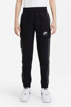 nike joggingbroek »nike air big kids' (boys') pants« zwart