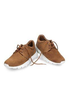 panama jack sneakers met uitneembare inlay bruin