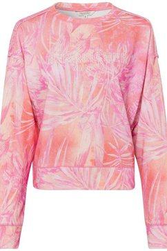 herrlicher sweatshirt carrie light roze
