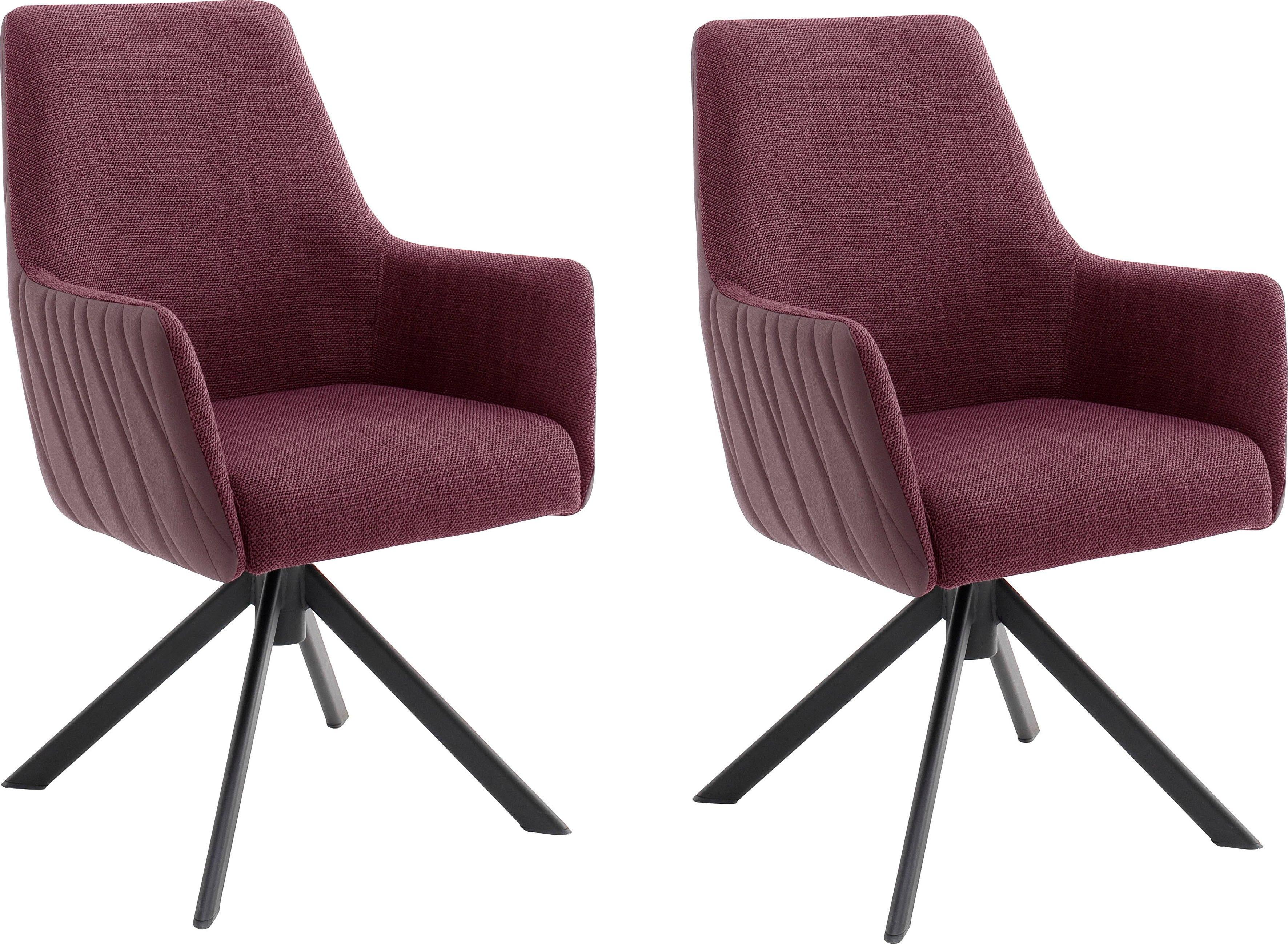 Op zoek naar een MCA furniture Stoel Reynosa Eetkamerstoel 360º draaibaar met nivellering, pocketveringzitting, belastbaar tot 120 kg (set, 2 stuks)? Koop online bij OTTO