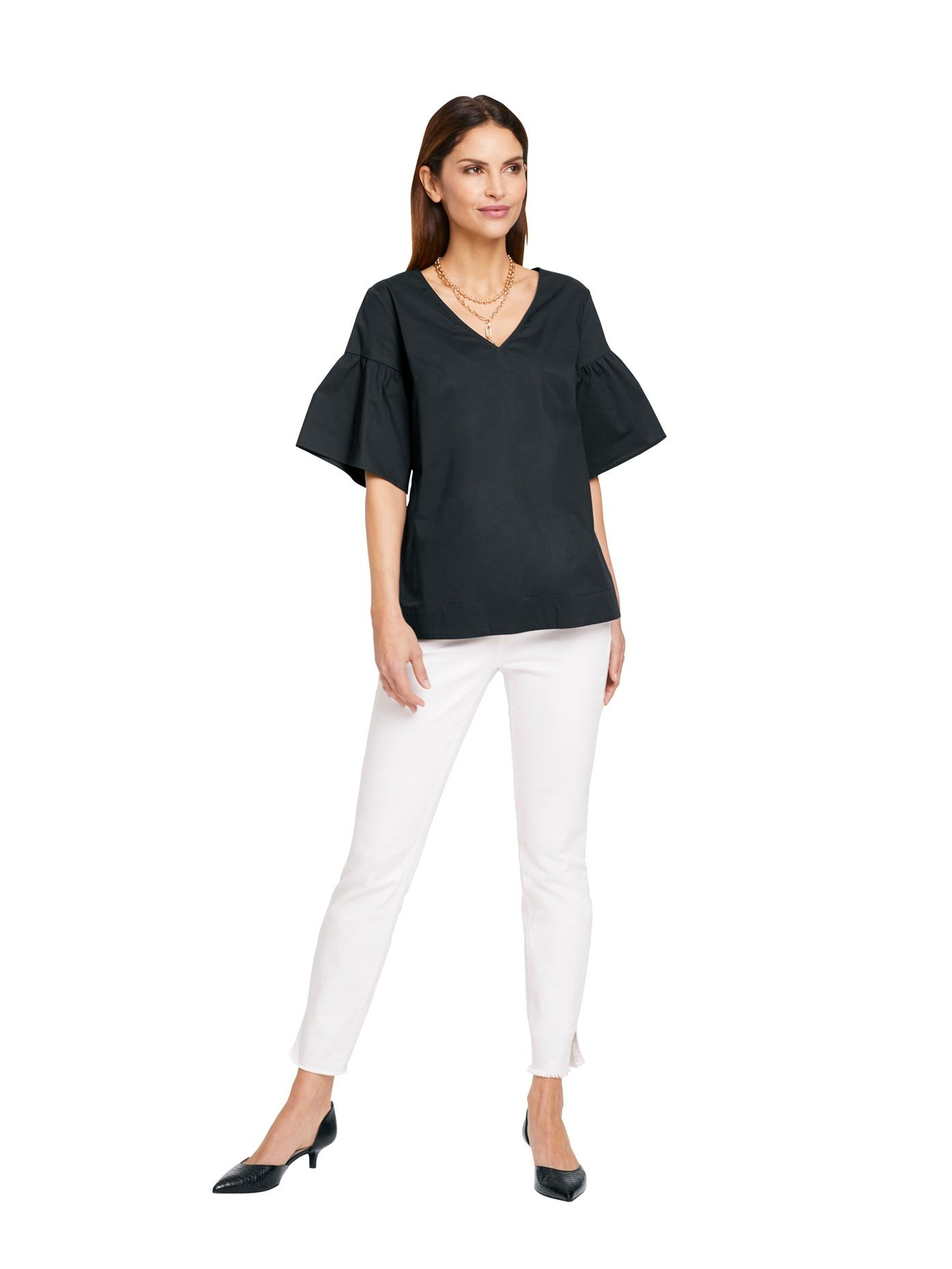 ASHLEY BROOKE by Heine blouse met korte mouwen - verschillende betaalmethodes