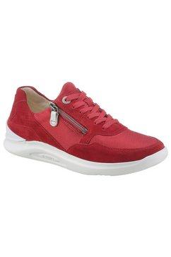 ganter sneakers helen met plantaardig gelooid binnenwerk, h-wijdte rood