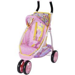 baby born »jogger« poppenbuggy roze