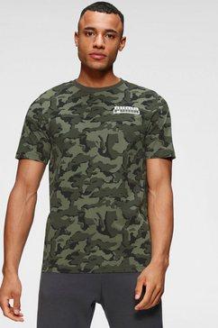 puma t-shirt »core camo aop tee«