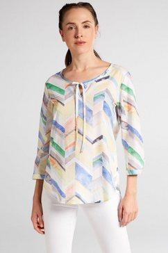 eterna lange blouse »modern classic« multicolor