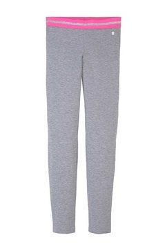 tom tailor legging in gemêleerde look grijs