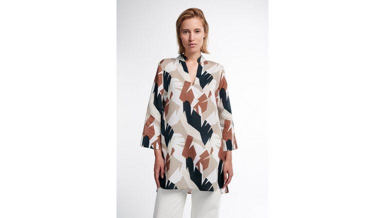 Eterna klassieke blouse MODERN CLASSIC met grafische print