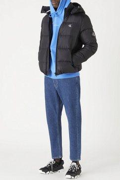 calvin klein donsjack essentials down jacket zwart