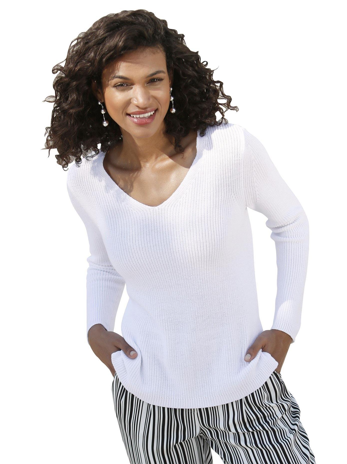 Op zoek naar een Casual Looks trui in stijlvolle rib-look? Koop online bij OTTO