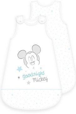 disney baby babyslaapzak mickey mouse (1-delig) wit