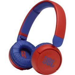 jbl »jr310bt« hoofdtelefoon rood