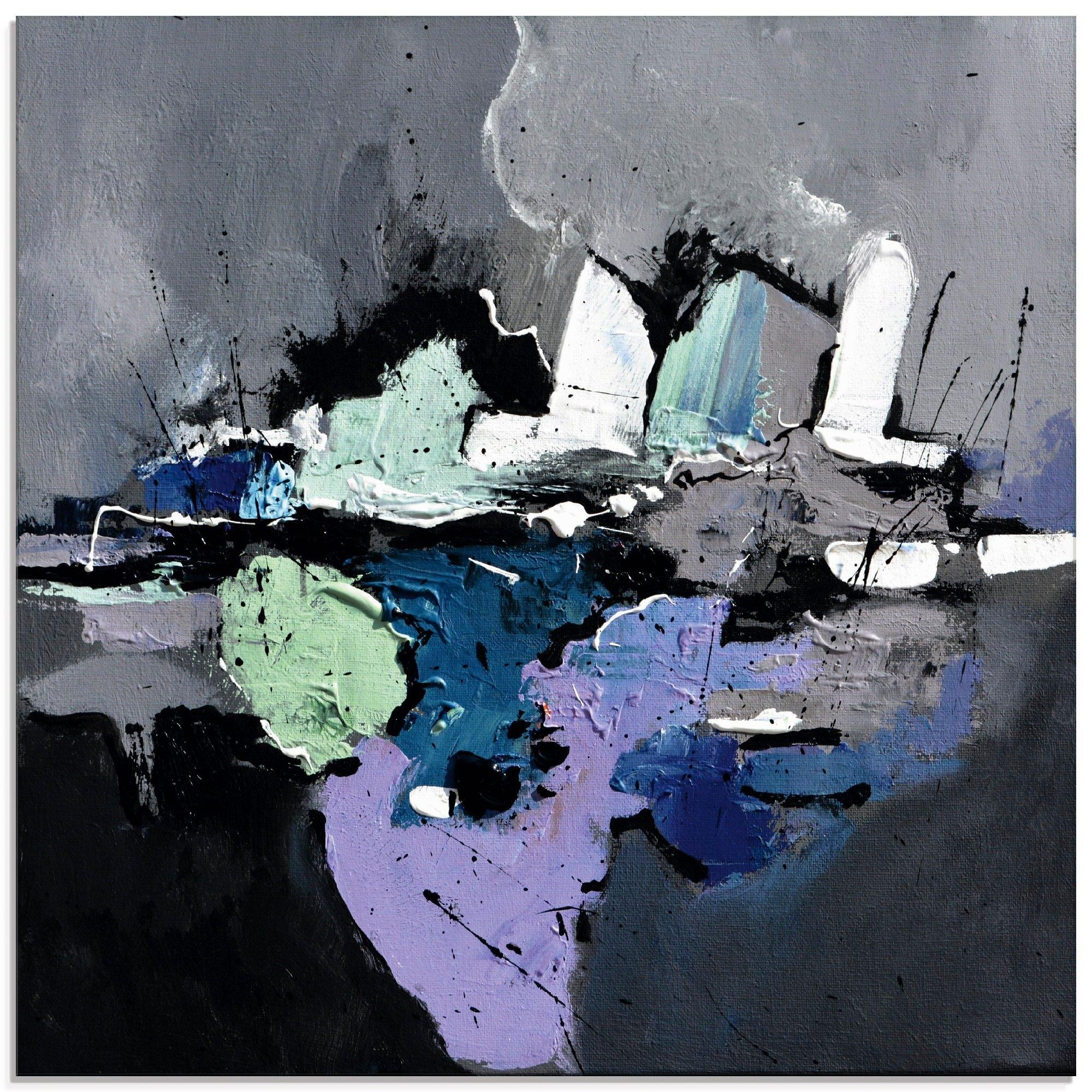 Artland print op glas Abstract III (1 stuk) goedkoop op otto.nl kopen