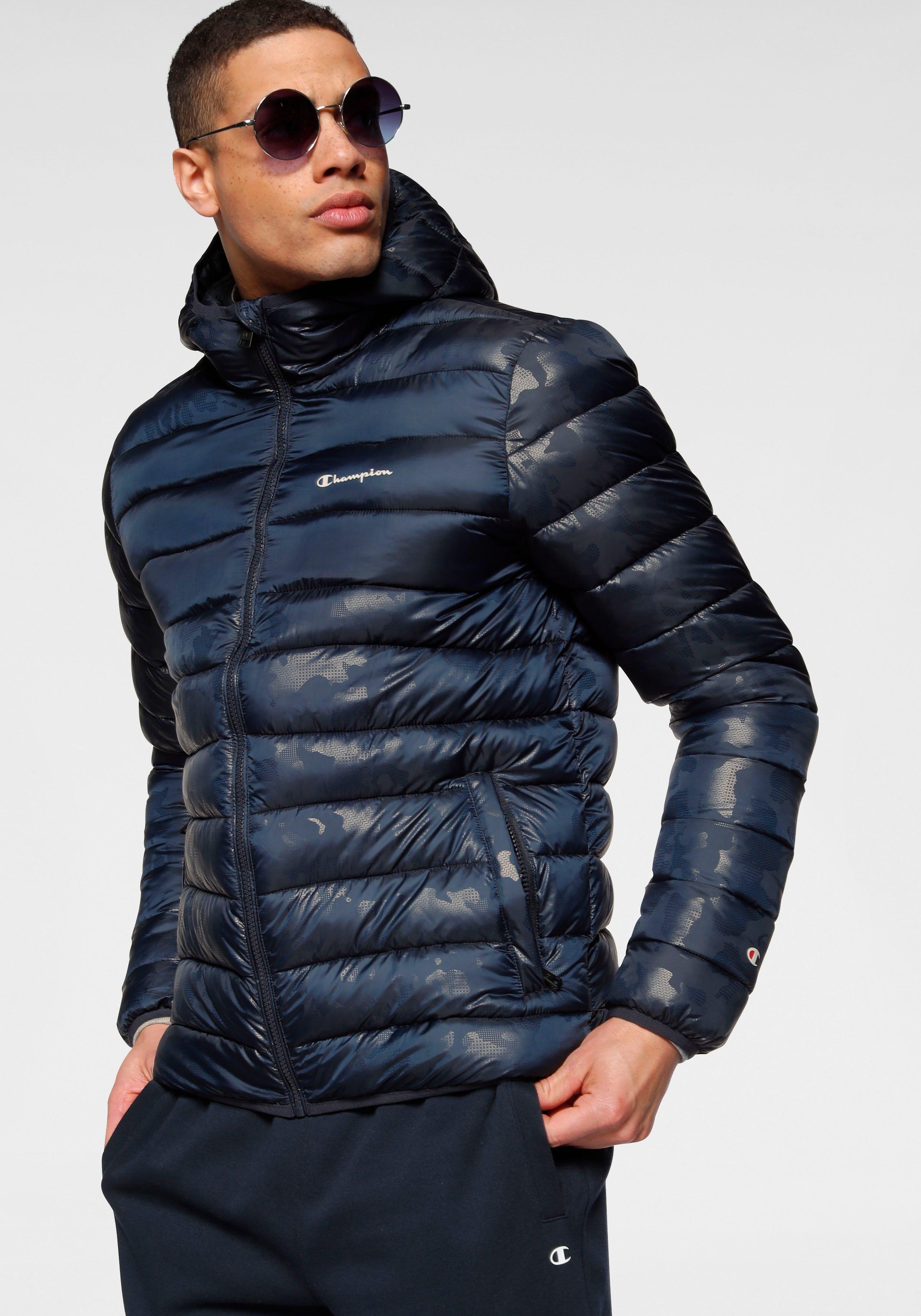 Champion gewatteerde jas HOODED JACKET nu online bestellen