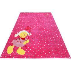 sigikid vloerkleed voor de kinderkamer schnuggi roze