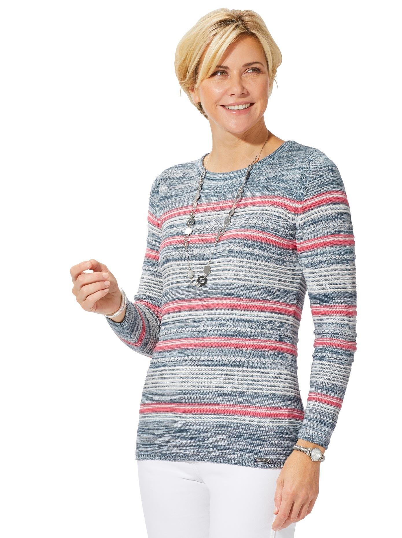 Casual Looks Trui met ronde hals Trui voordelig en veilig online kopen