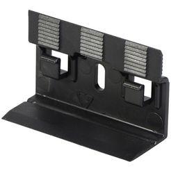bodenmeister bevestigingsclips voor plinten clips type 1 (set, 30 stuks) zwart