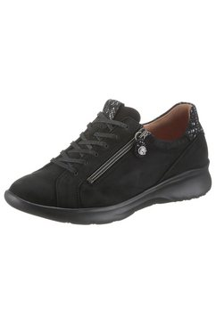ganter sneakers herieth in comfortwijdte h (= wijd) zwart