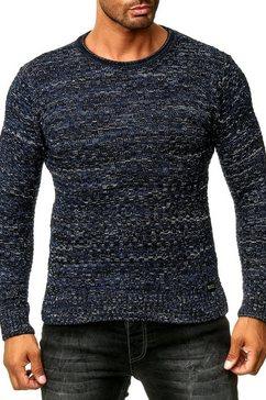 rusty neal pullover blauw