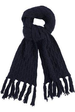 j jayz gebreide sjaal blauw