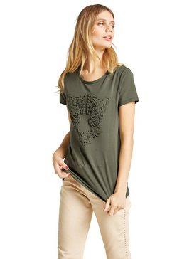 linea tesini by heine shirt met ronde hals groen