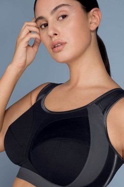 anita active sport-bh extreme control plus ontworpen voor grote borsten zwart