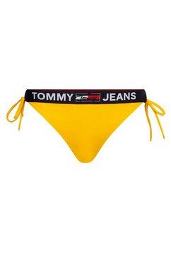 tommy hilfiger bikinibroekje met logoband geel