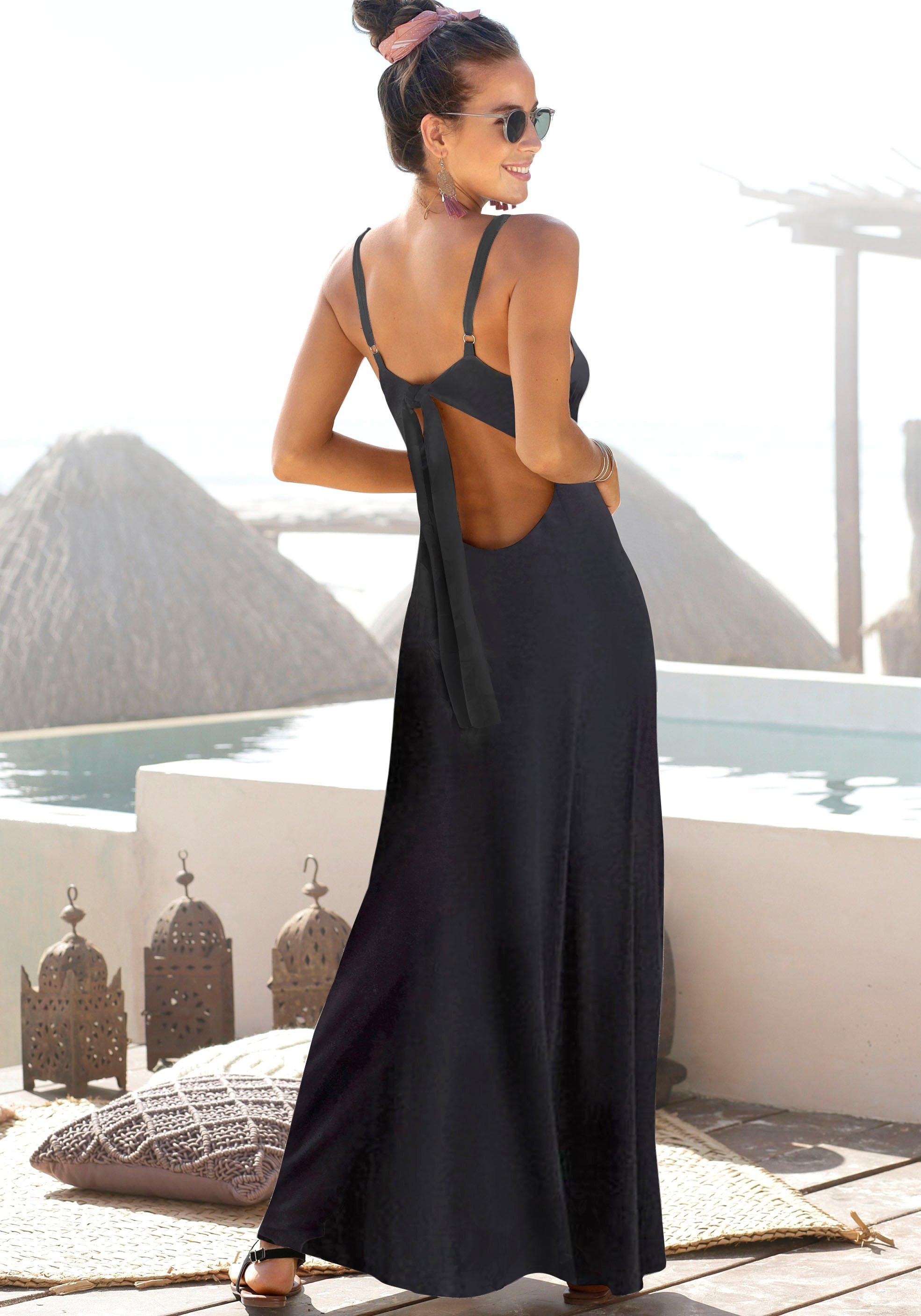 s.Oliver RED LABEL Beachwear s.Oliver Beachwear maxi-jurk goedkoop op otto.nl kopen