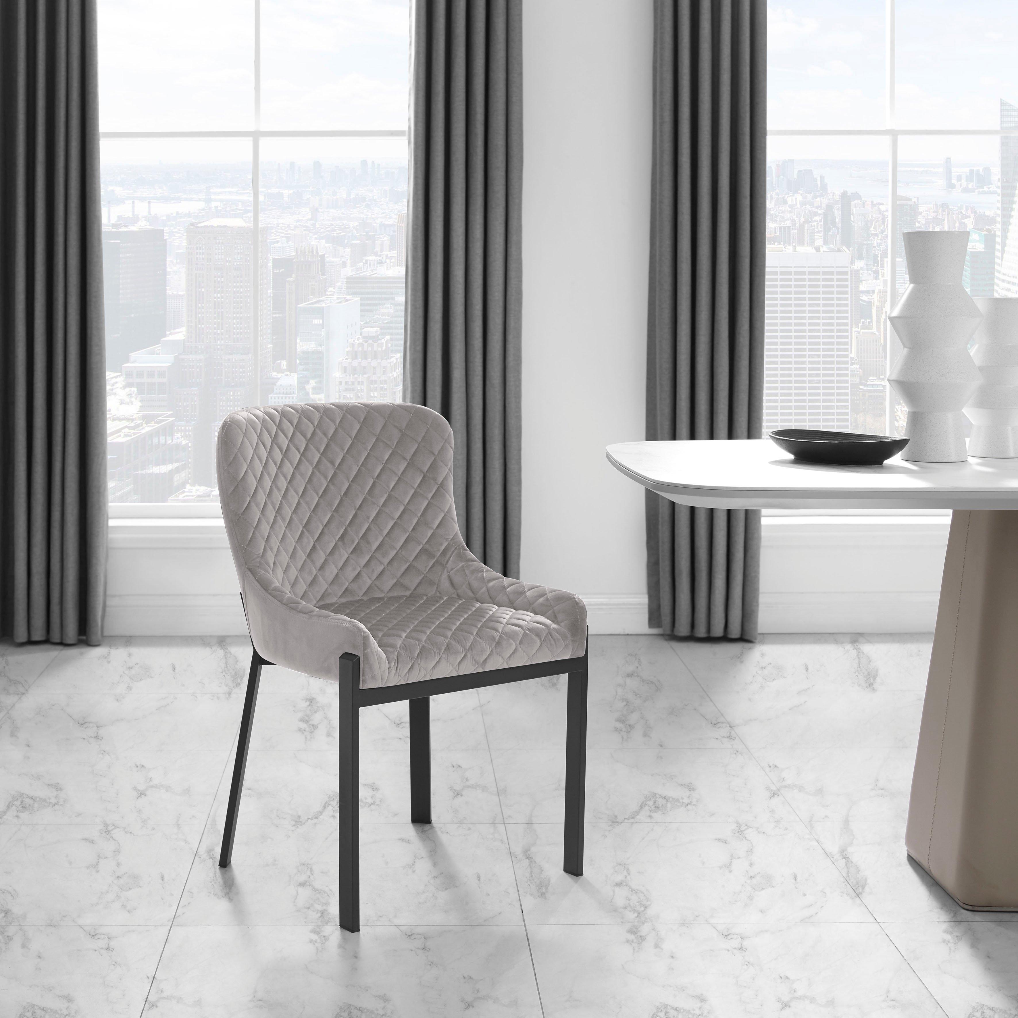 Places of Style Eetkamerstoel Medford set van 2, zacht verdikte zitting en rugleuning, modern design (set) bij OTTO online kopen