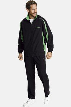 jan vanderstorm trainingspak eirik prettig joggingpak (set, 2-delig) groen