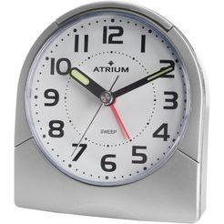 atrium kwarts-wekker »quar« zilver