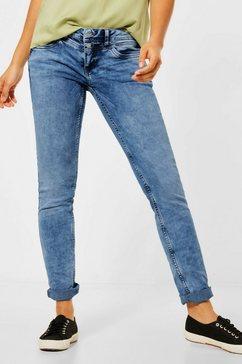 street one slim fit jeans beige