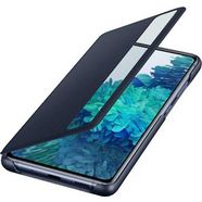 samsung smartphone-hoes clear view-cover ef-zg780 voor galaxy s20 fe blauw